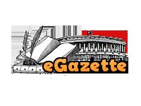 eGazette website link